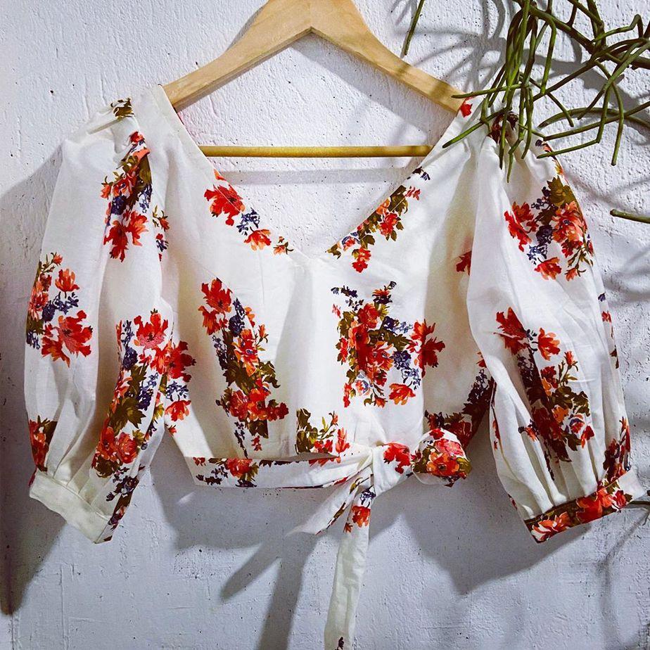 Orchid blouse