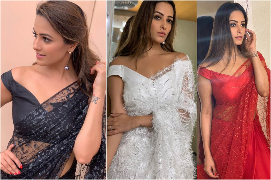 Steal Uber-Chic Blouse Patterns From Anita Hassanandani