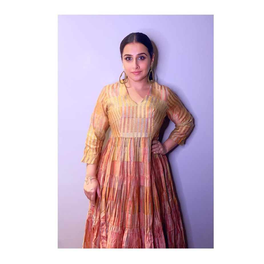 Vidya in Anushree dress