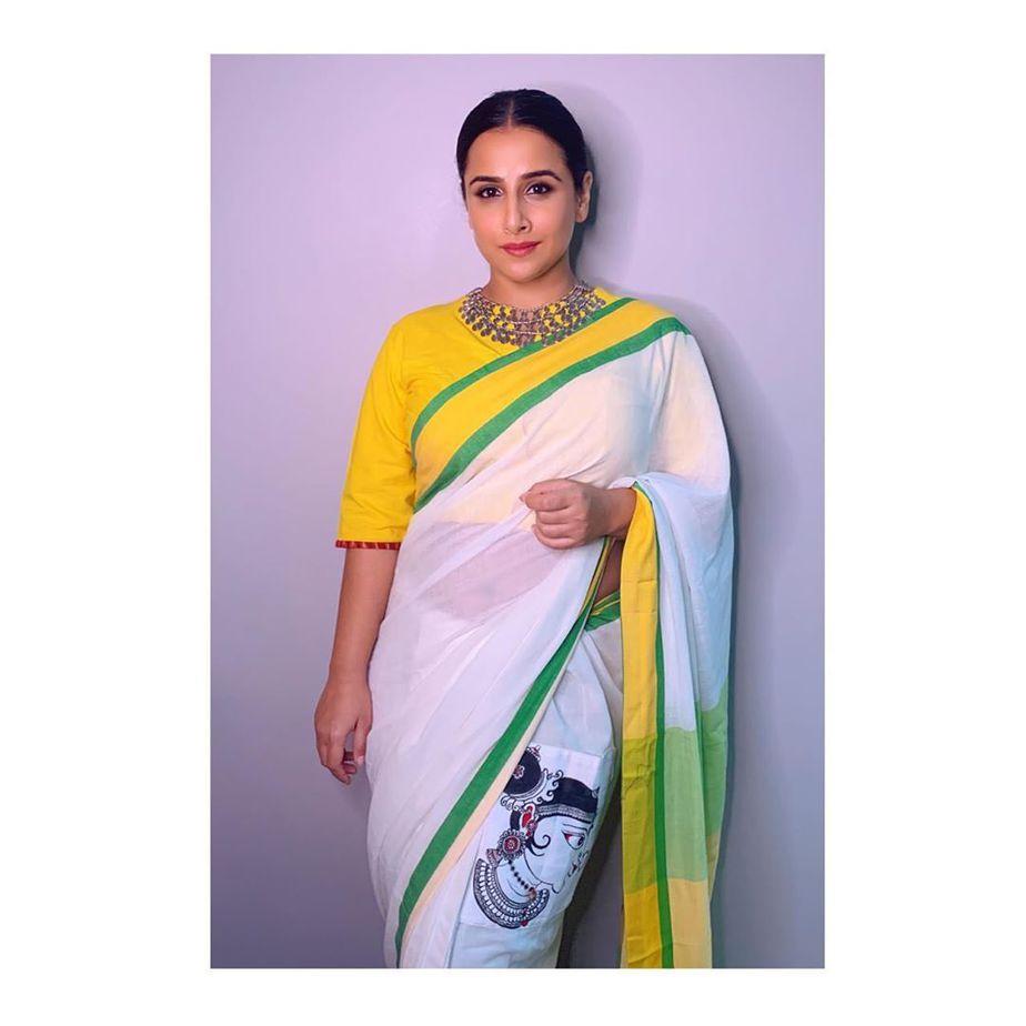 Vidya in White