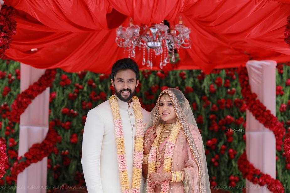Arav and Raahei's Wedding Photos! – South India Fashion
