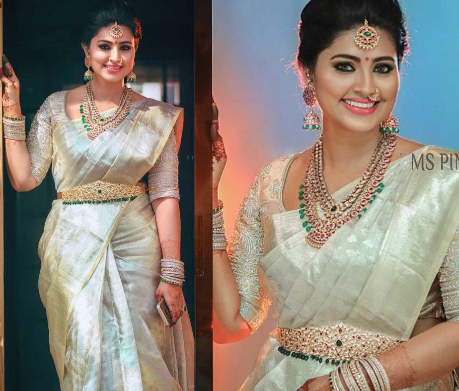 actress sneha prasanna jewellery