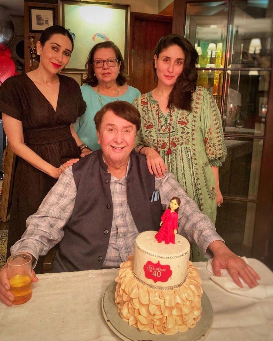 kareena kapoor 40th birthday bash