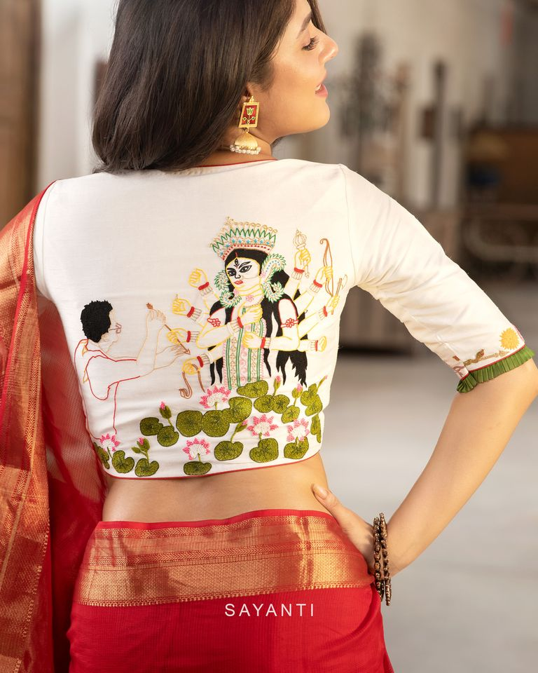 latest designer saree blouses 2020