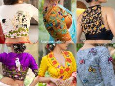 Sayanti Ghosh Blouse Designs 2020
