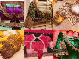 pattu saree blouse designs 2020