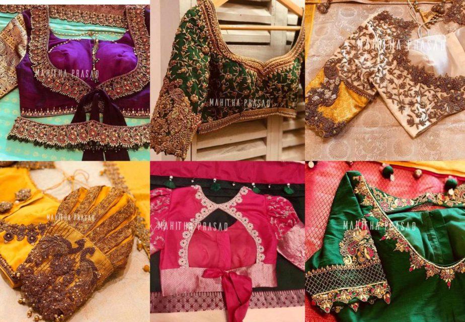 pattu saree blouse designs 2020