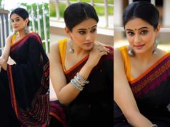 priyamani black saree
