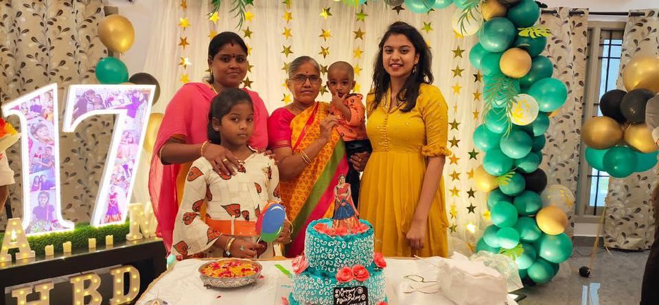 roja daughter anshumalika 17th birthday photos (12)