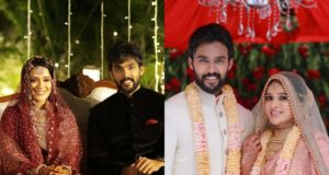 tamil bigg boss aarav raahei wedding photos