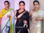 vidya balan sarees