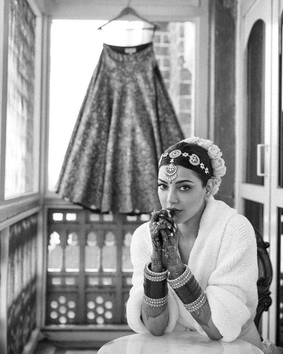 Kajal Aggarwal wedding bridal look