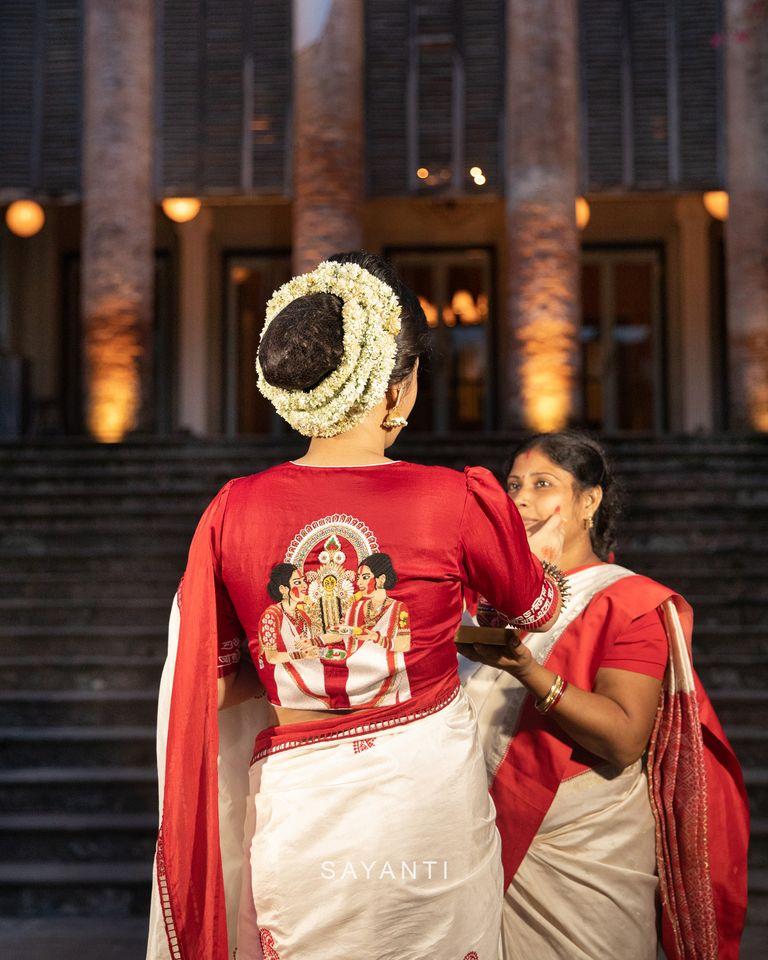 goddess durga blouse designs for durga pooja (3)
