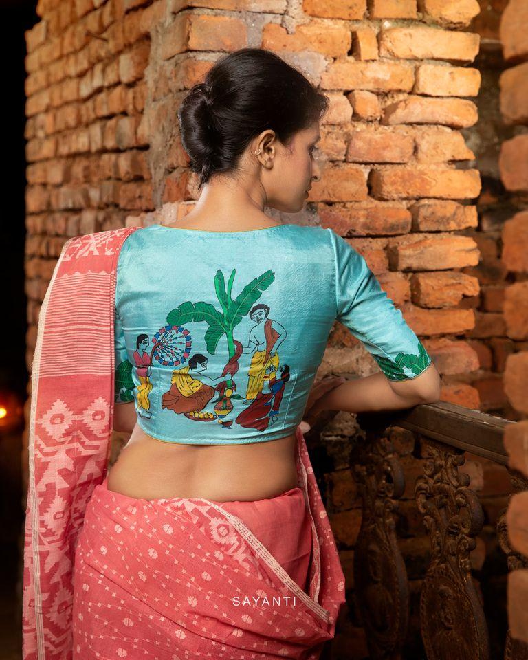 goddess durga blouse designs