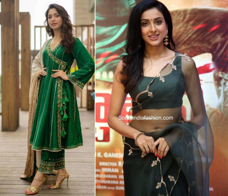 green color fashion trends south india (1)