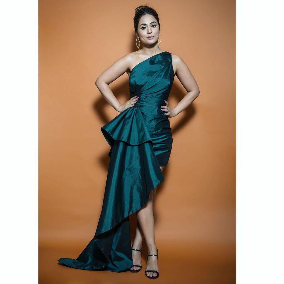Hina Khan Big Boss Attire