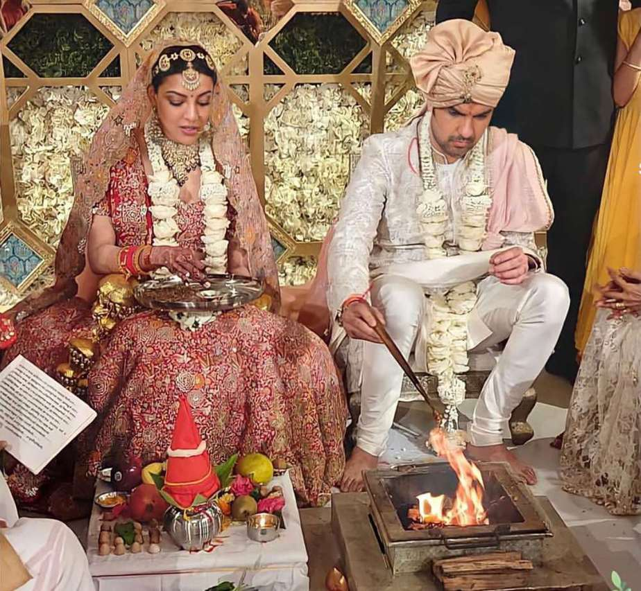 kajal aggarwal and gautam marriage photos (1)