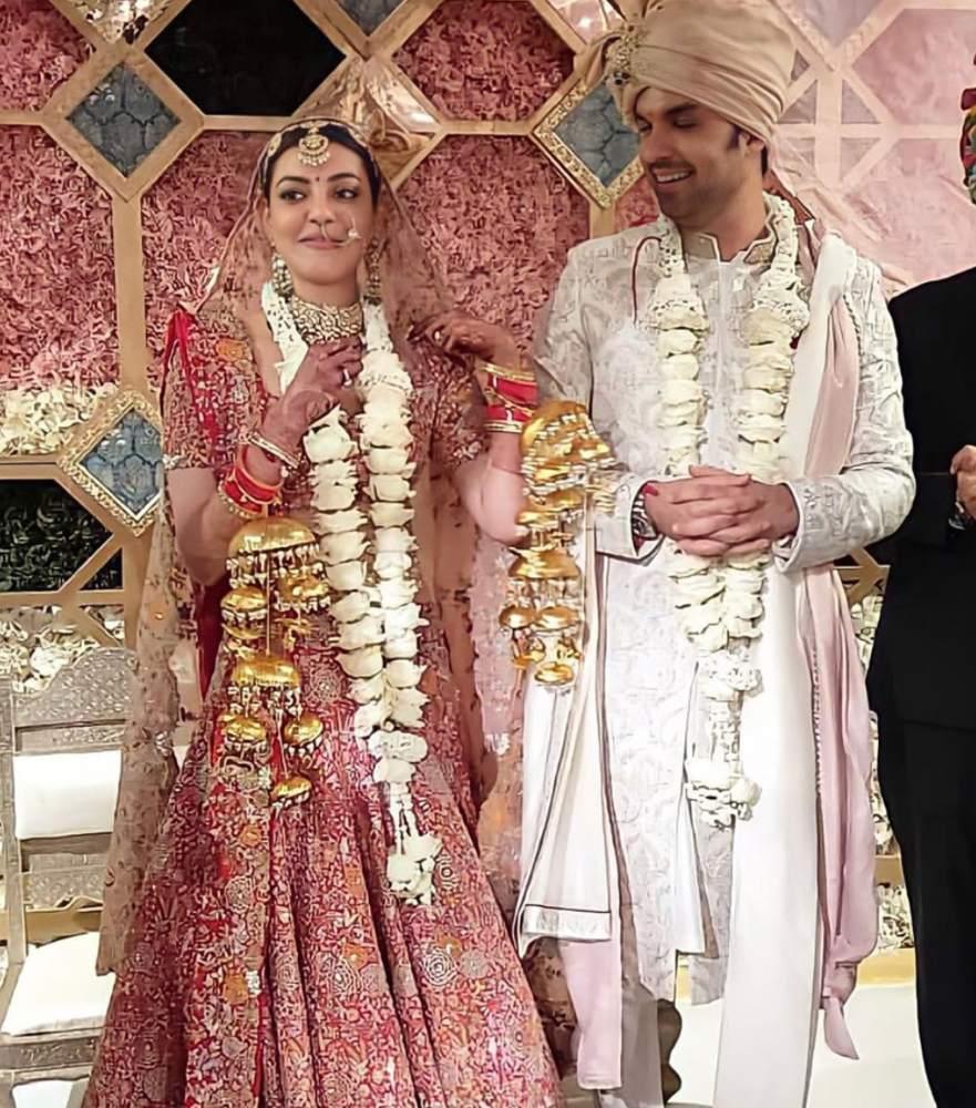 kajal aggarwal and gautam marriage photos (2)
