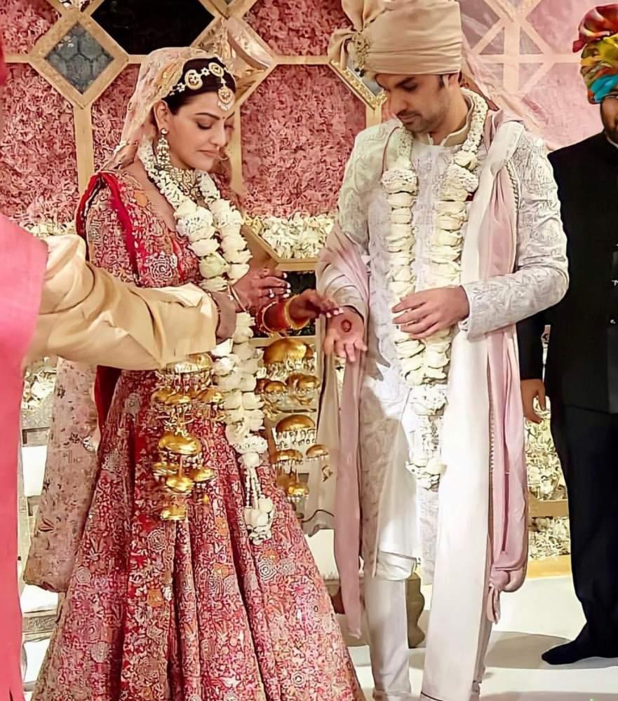 kajal aggarwal and gautam marriage photos (3)
