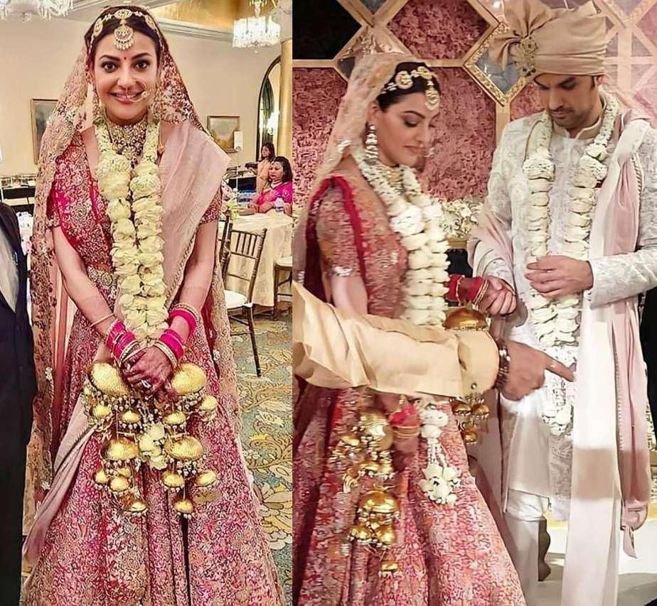 kajal aggarwal and gautam marriage photos