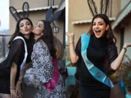 Kajal Aggarwal celebrates her bachelorette party
