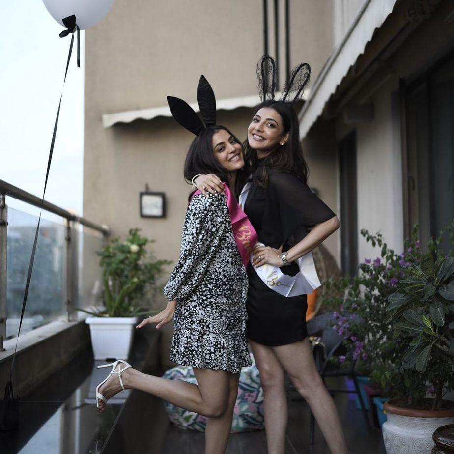 kajal aggarwal bachelorette party photos (3)
