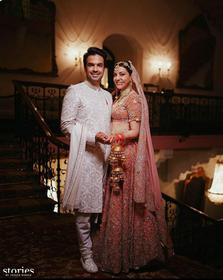 kajal aggarwal marriage photos