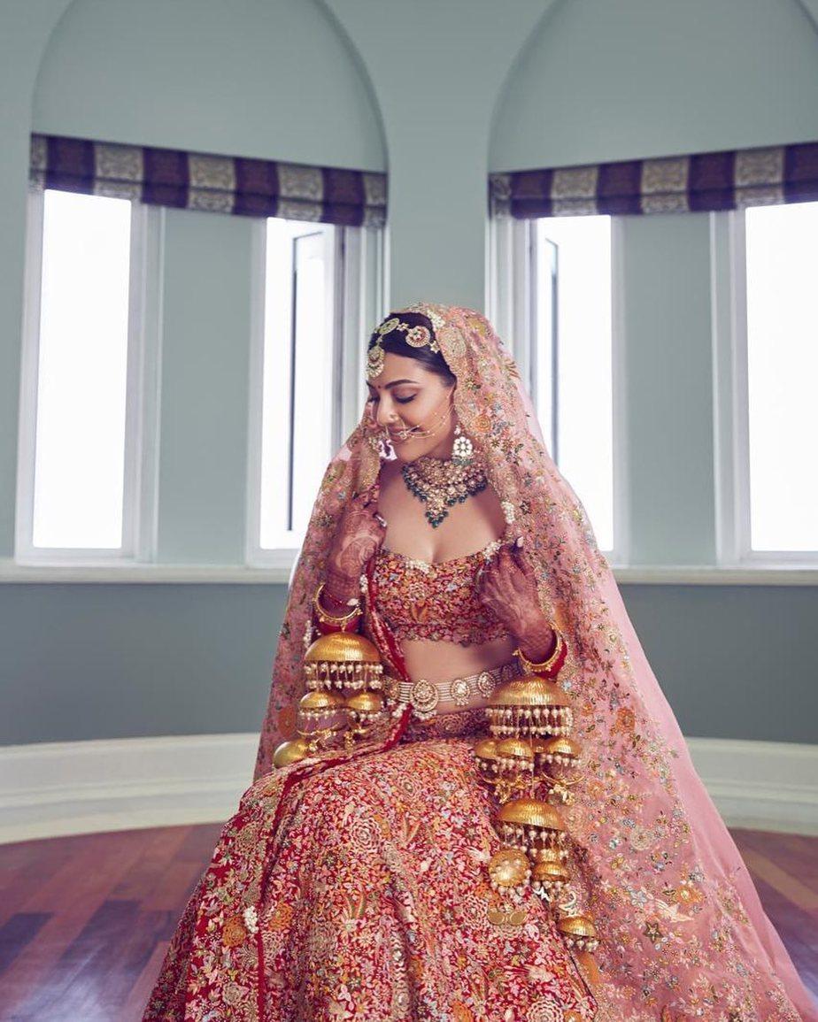 kajal aggarwal wedding lehenga (2)