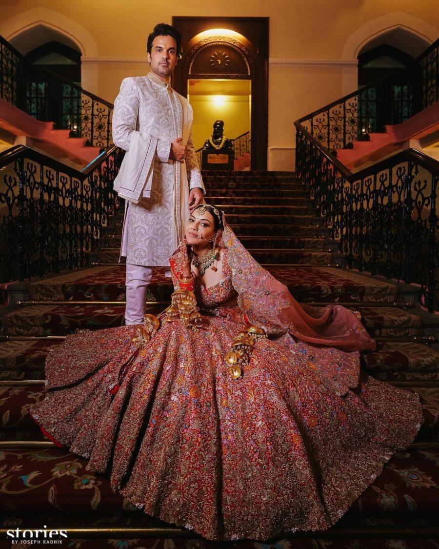 kajal aggarwal wedding photos (2)