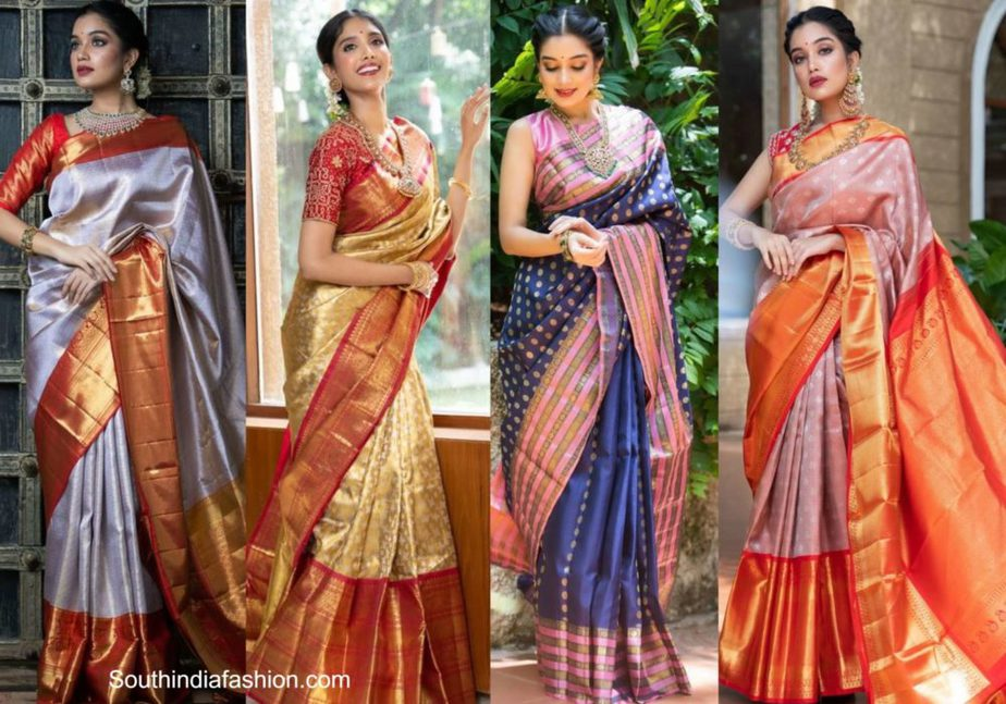 kalpavruksh kanjeevaram sarees collection