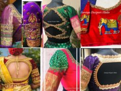 latest maggam work wedding saree blouse designs 2020