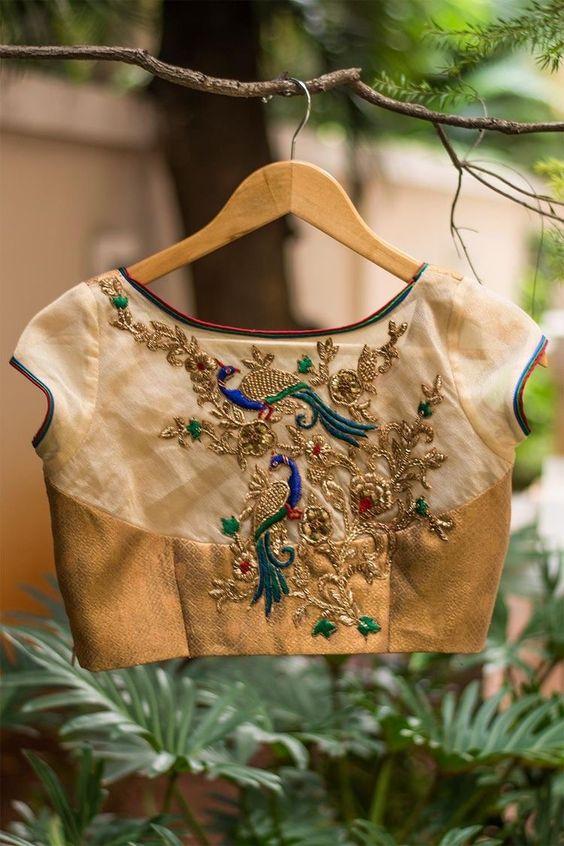 maggam work blouse design ideas