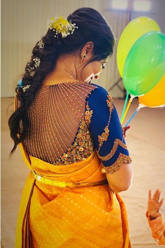 beautiful maggam work blouse design ideas