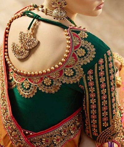 blouse designs with maggam work