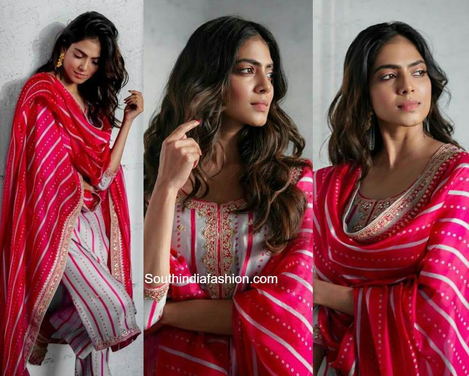malavika mohanan in punit balana salwar suit (2)