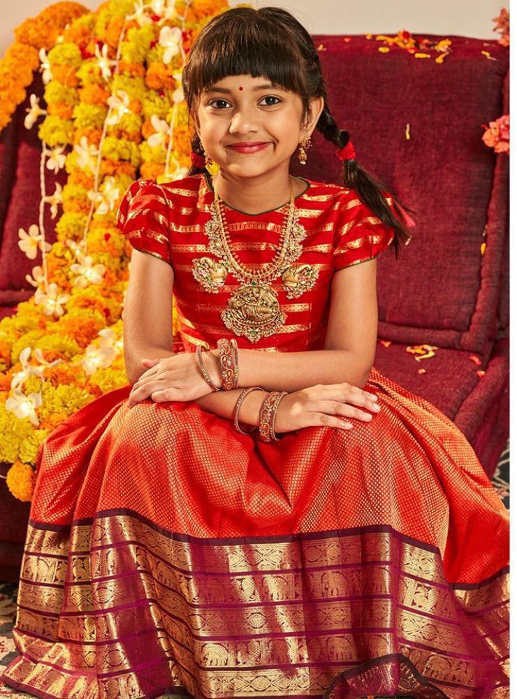 nirvana manchu dussehra celebrations pattu lehenga
