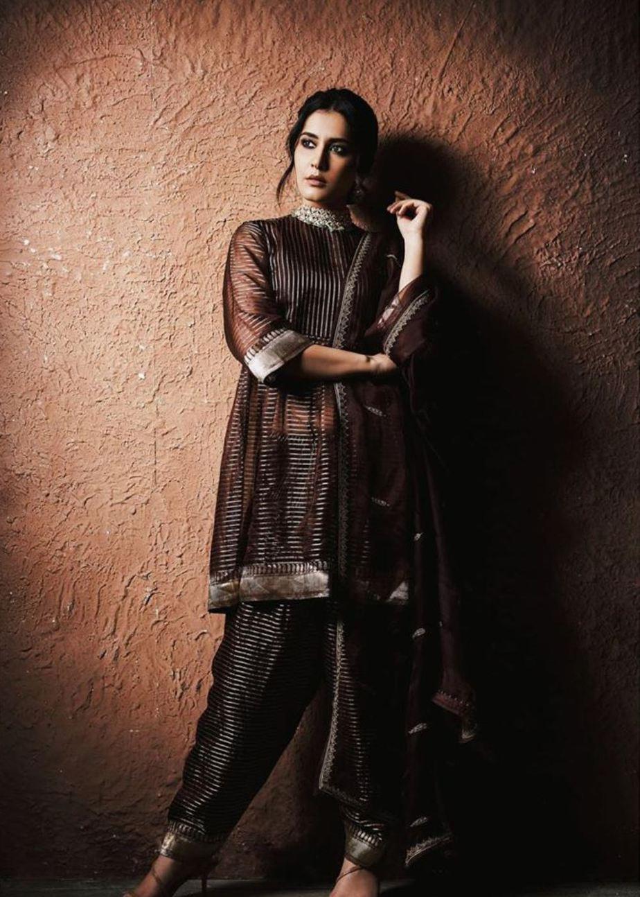 Raashi Khanna in a Raw Mango kurta