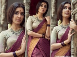 raashi khanna in traditional attire1
