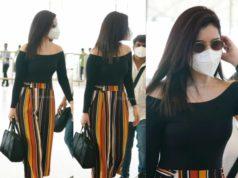 raashi khanna stylish airport look