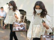 samantha akkineni spotted in Mumbai in zara top