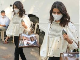 samantha akkineni spotted in Mumbai in zara top