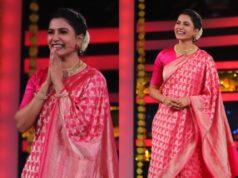 samantha prabhu in fuschia saree big boss feature (1)