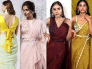 trendy sarees by nayantaara