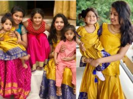 chiranjeevi grand daughters