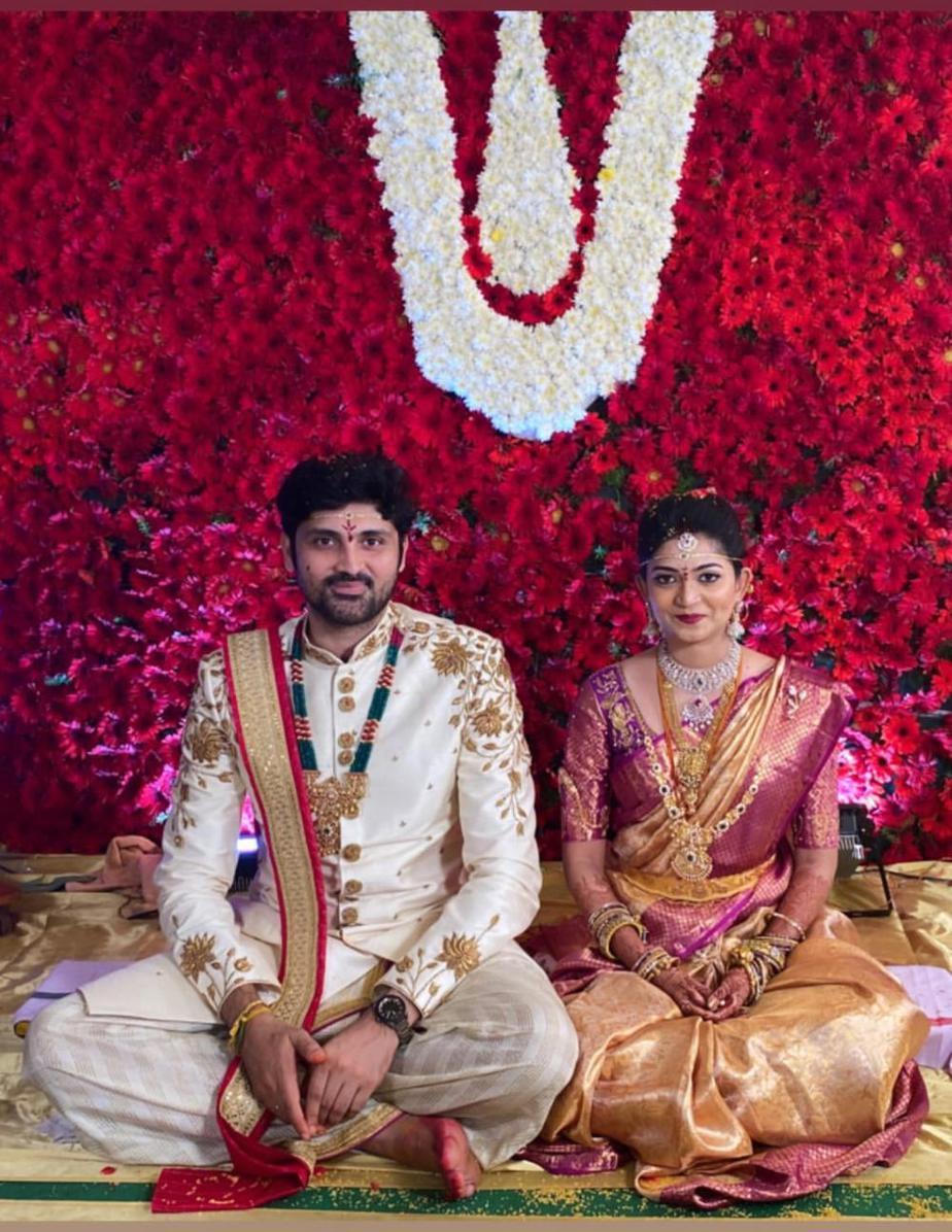 Bigg Boss fame Samrat Reddy's wedding to Anjana