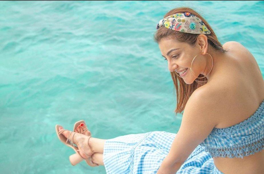 kajal aggarwal honeymoon photos (3)