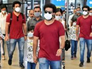 Jr ntr in casual airport look after vacay in Dubai feautured