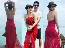 kajal aggarwal honeymoon pictures