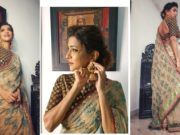 Lakshmi manchu for zee kutumbam awards