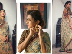 Lakshmi manchu for zee kutumbam awards